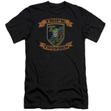 Tropic Thunder Patch S/S Adult 30/1 T-Shirt Black