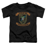 Tropic Thunder Patch S/S Toddler T-Shirt Black