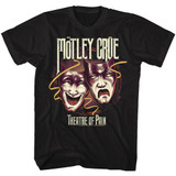 Motley Crue Classic Theater Of Pain Black Adult T-Shirt