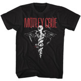 Motley Crue Classic Dr. Feelgood Black Adult T-Shirt