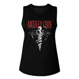 Motley Crue Classic Dr. Feelgood Black Women's Muscle Tank Top T-Shirt