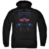 Aquaman Movie Black Manta Adult Pullover Hoodie Sweatshirt Black