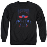 Aquaman Movie Black Manta Adult Crewneck Sweatshirt Black