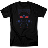Aquaman Movie Black Manta Adult 18/1 T-Shirt Black