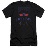 Aquaman Movie Black Manta Premium Adult 30/1 T-Shirt Black