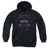 Aquaman Movie Black Manta Youth Pullover Hoodie Sweatshirt Black