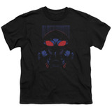 Aquaman Movie Black Manta Youth T-Shirt Black