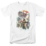 Aquaman Movie King Of Atlantis Adult 18/1 T-Shirt White