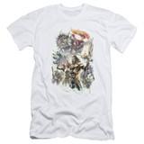 Aquaman Movie King Of Atlantis Adult 30/1 T-Shirt White