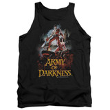 Army of Darkness Bloody Poster Adult Tank Top T-Shirt Black