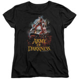 Army of Darkness Bloody Poster Women's T-Shirt Black