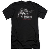 Army of Darkness Boomstick Adult 30/1 T-Shirt Black