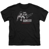 Army of Darkness Boomstick Youth T-Shirt Black