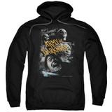 Army of Darkness Covered Adult Pullover Hoodie Sweatshirt Black