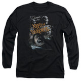 Army of Darkness Covered Adult Long Sleeve T-Shirt Black