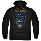 Army of Darkness Evil Ash Adult Pullover Hoodie Sweatshirt Black