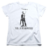 Army of Darkness Boomstick Women's T-Shirt White