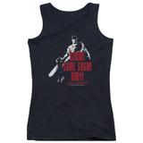 Army of Darkness Sugar Junior Women's Tank Top T-Shirt Black