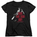 Army of Darkness Sugar Women's T-Shirt Black