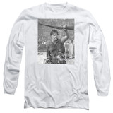 Army of Darkness Boom Adult Long Sleeve T-Shirt White