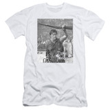 Army of Darkness Boom Adult 30/1 T-Shirt White
