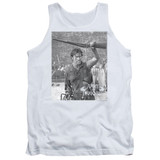 Army of Darkness Boom Adult Tank Top T-Shirt White
