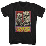 Terminator T800s Black Adult T-Shirt