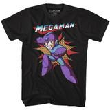 Mega Man Mega Black Adult T-Shirt