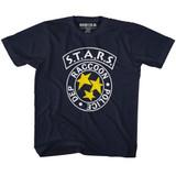 Resident Evil RPD Stars Navy Toddler T-Shirt