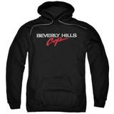 Beverly Hills Cop Logo Adult Pullover Hoodie Sweatshirt Black