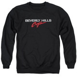 Beverly Hills Cop Logo Adult Crewneck Sweatshirt Black