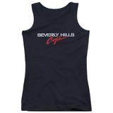 Beverly Hills Cop Logo Junior Women's Tank Top T-Shirt Black
