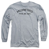 Beverly Hills Cop Mumford Adult Long Sleeve T-Shirt Athletic Heather