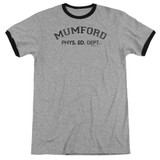 Beverly Hills Cop Mumford Adult Ringer T-Shirt Heather/Black