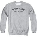 Beverly Hills Cop Mumford Adult Crewneck Sweatshirt Athletic Heather