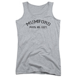 Beverly Hills Cop Mumford Junior Women's Tank Top T-Shirt Athletic Heather