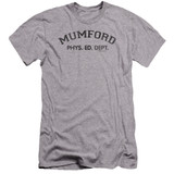 Beverly Hills Cop Mumford Premium Canvas Adult Slim Fit 30/1 T-Shirt Athletic Heather