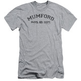 Beverly Hills Cop Mumford Adult 30/1 T-Shirt Athletic Heather