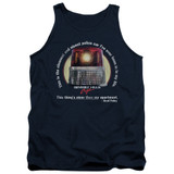 Beverly Hills Cop Nicest Police Car Adult Tank Top T-Shirt Navy