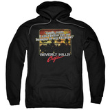 Beverly Hills Cop Banana In My Tailpipe Adult Pullover Hoodie Sweatshirt Black