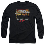 Beverly Hills Cop Banana In My Tailpipe Adult Long Sleeve T-Shirt Black