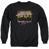 Beverly Hills Cop Banana In My Tailpipe Adult Crewneck Sweatshirt Black