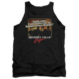 Beverly Hills Cop Banana In My Tailpipe Adult Tank Top T-Shirt Black
