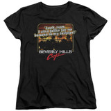 Beverly Hills Cop Banana In My Tailpipe Women's T-Shirt Black