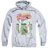 Bad News Bears Vintage Adult Pullover Hoodie Sweatshirt Athletic Heather