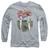 Bad News Bears Vintage Adult Long Sleeve T-Shirt Athletic Heather