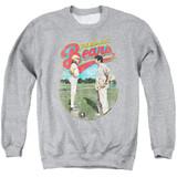 Bad News Bears Vintage Adult Crewneck Sweatshirt Athletic Heather