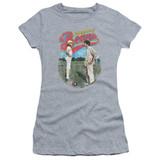 Bad News Bears Vintage Junior Women's Sheer T-Shirt Athletic Heather