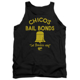 Bad News Bears Chico's Bail Bonds Adult Tank Top T-Shirt Black