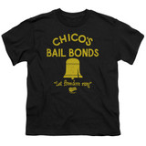 Bad News Bears Chico's Bail Bonds Youth T-Shirt Black